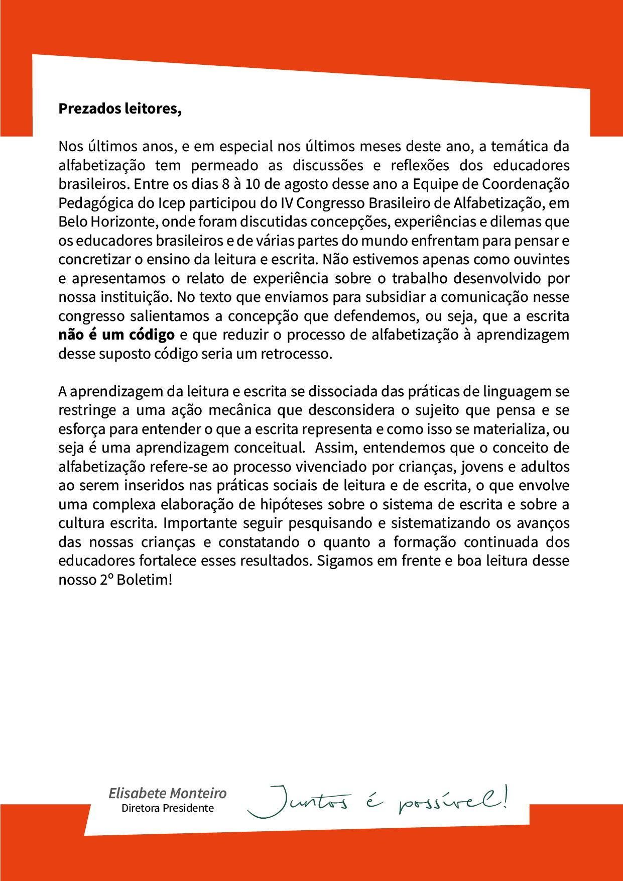 ICEP - Boletim edição 2, versão impressa_Assessorias Pedagógicas