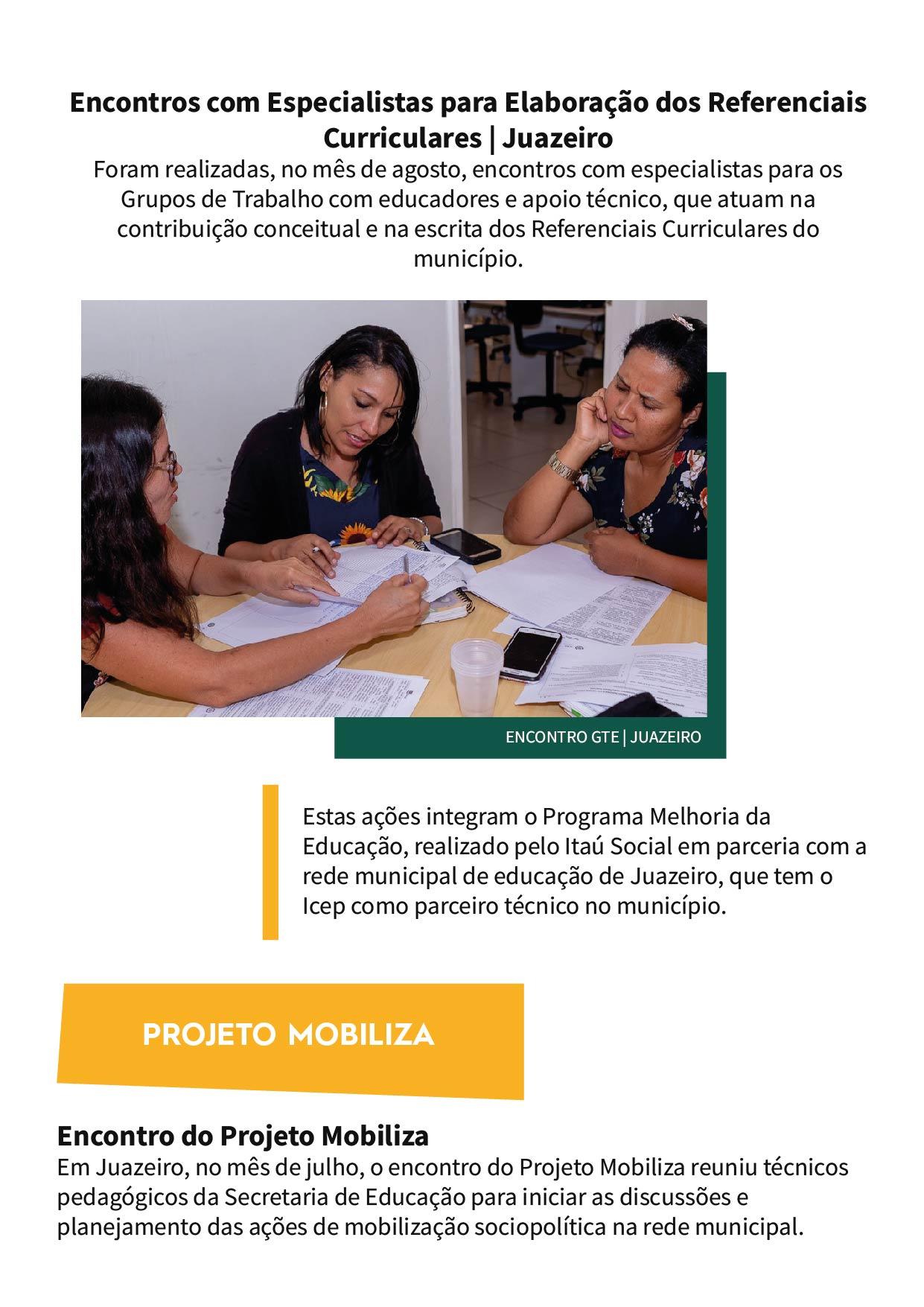 ICEP - Boletim edição 2, versão web 2_Campanhas e mobilizações